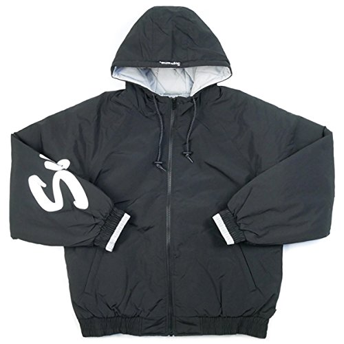 SUPREME シュプリーム 18SS Sleeve Script Sideline Jacket ジャケット 黒 M 並行輸入品 B07B73JT2L