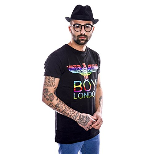 BOY LONDON - Italia Herren regular fit printed t-shirt BL634 XL Schwarz
