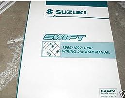 1996 1997 1998 suzuki swift electrical service manual suzuki subaru baja wiring diagram flip to back flip to front