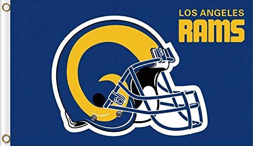 Reddingtonflags Los Angeles Rams Double Sided 3x5ft Flag Classic Logo Retro
