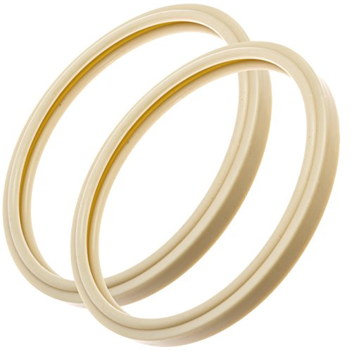 Impresa Products 2-Pack Pentair-Compatible Light Lens Gasket - 8 3/8