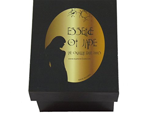 Yoni Genuine Jade Eggs by Essence of Jade® for Kegel Muscles Exercises to strengthen your pelvic floor. Includes FREE Portable Bidet Sprayer and Travel Bag that discretely fits in a purse. by Essence of Jade (Image #2)
