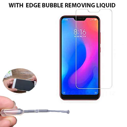 Redmi 6 pro Tempered Glass Screen Protector with Premium Quality