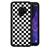 Grid Phone Case Fits for Samsung Galaxy S9 5.8 Inch