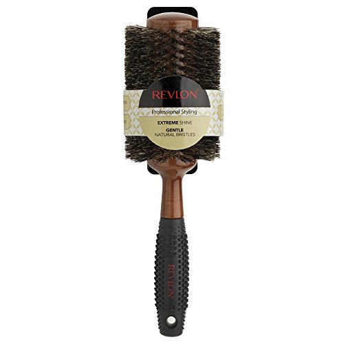 Revlon Wood Series Round Brush, RV3059, Large
