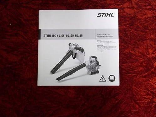 Stihl Bg 55 Instruction Manual Wiring Diagram