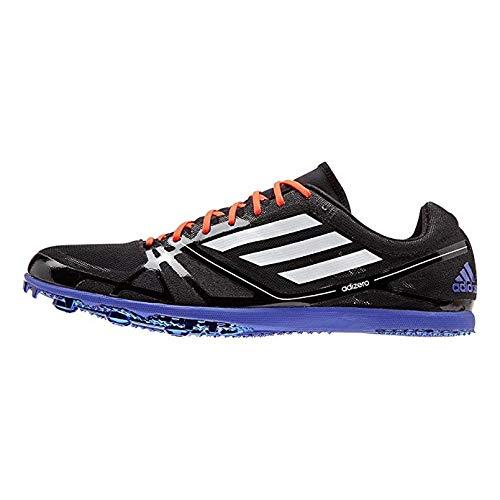 Adidas Adizero Avanti 2 Mid/Long Distance Track Spikes Shoes Black White Mens Size 5
