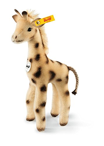 (Steiff Greta Giraffe Plush, Beige/Brown)