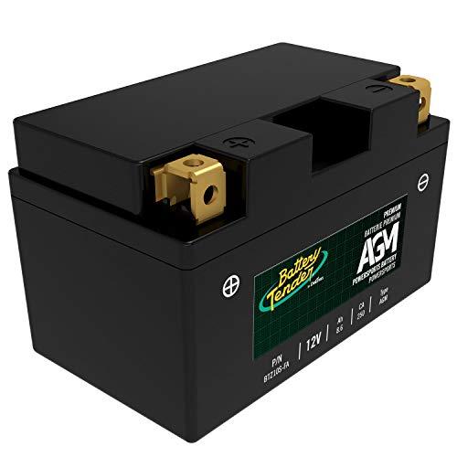 - Battery Tender BTZ10S-FA 12V, 8.6Ah, 250CCA AGM Engine Start Battery