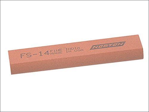 FS14 Round Edge Slipstone 100 x 25 x 11 x 5mm India Fine