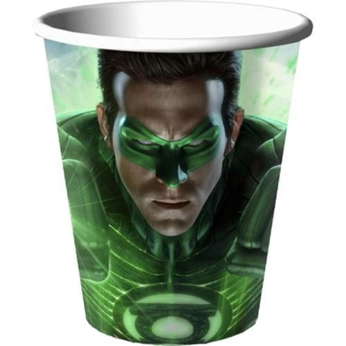 Green Lantern Party 9 oz Hot/Cold Cups