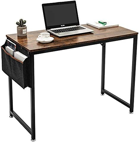 Cheap ARCCI Home Computer Desk w/Storage Bag Organizer and Hook home office desk for sale