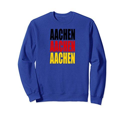 Unisex Aachen German Flag / City Travel Deutschland Souvenir Medium Royal Blue