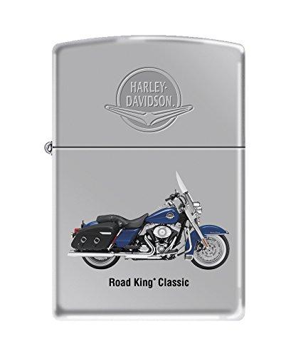 Zippo Harley-Davidson Road King High Polish Chrome Pocket Lighter