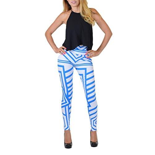 f5f9baee158b durable modeling Dinamit Jeans Junior's High-Waist Elastic Leggings ...