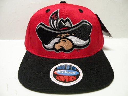 NCAA Nevada Las Vegas UNLV Rebels Logo Red 2 Tone Snapback C