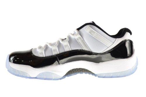 online store 20e6e e3330 Amazon.com   Jordan Air 11 Retro Low Men s Shoes White Black-Dark Concord  528895-153 (12 D(M) US)   Basketball