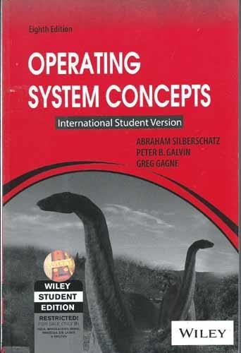 Buy Operating System Concepts International Student Version Book