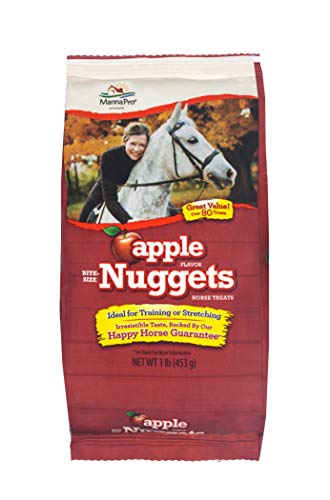 Manna Pro Apple Trail Size Bite Size Nuggets, 1 - Nuggets Apple