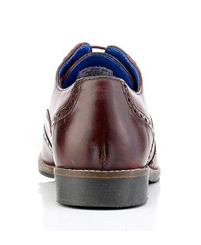 Red Tape , Chaussures de ville à lacets pour homme violet Bordeaux