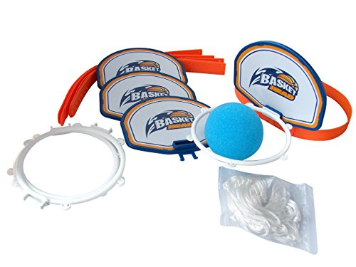 "Price comparison product image Fotorama Basket Head,  White / Blue / Orange,  7"" x 5"""