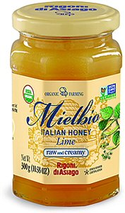 Rigoni Di Asiago Mielbio Oragnic Italian Lime Honey, 10.58 Ounce, by Rigoni di Asiago