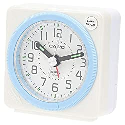 CASIO TQ-146-7JF analog travel clock alarm clock (Japan Import) by N/A