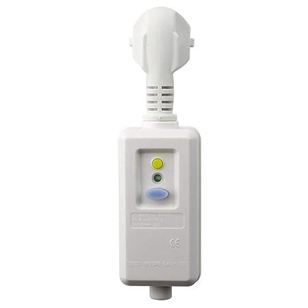 Calentador de agua instantáneo eléctrico, enchufe europeo, 16 A ...