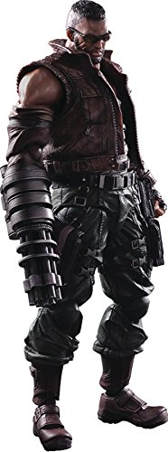 Square Enix Final Fantasy VII Barret Wallace (Remake Version) Play Arts Kai Action Figure from Square Enix