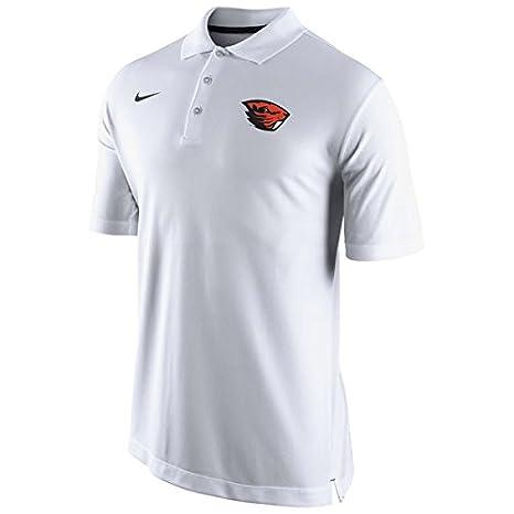 Nike Oregon State Beavers Dri-fit Entrenadores diseño Blanco Polo ...