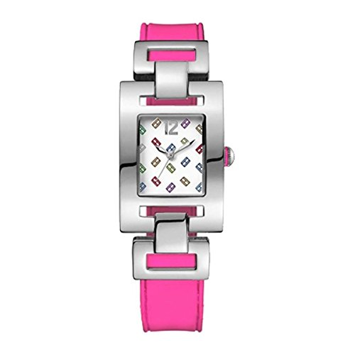 Tommy Hilfiger Multi Dial SS Pink Silicone Quartz Ladies Watch 1781068