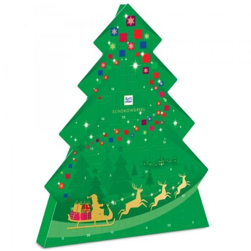Ritter Sport Advent Calendar Christmas Tree 208g