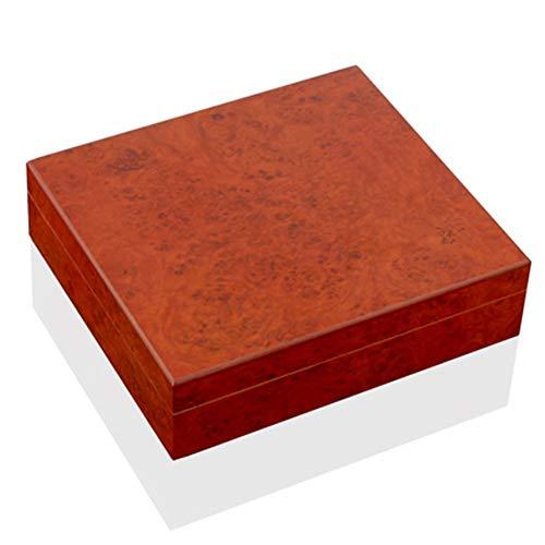$57.56 antique humidor NACHEN Cigar Box Cedar Wood Portable 30 Cigars Hygrometer and Humidifier Plain Storage Box 2019