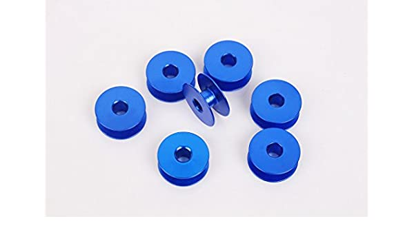 honeysew 10 bobinas de aluminio Industrial individual aguja ...