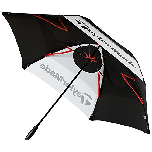 TaylorMade Golf 2017 Tour Double Canopy Umbrella