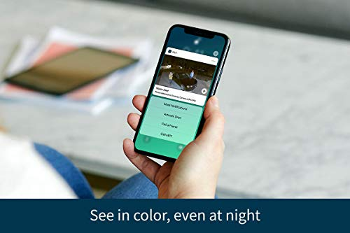 Arlo Essential Spotlight Camera - 1 Pack - Wireless Security, 1080p Video, Color Night Vision, 2 Way Audio, Wire-Free…