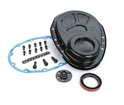 Competition Cams 208 Steel Timing Cover with Thrust Plate for Small Block Chevrolet
