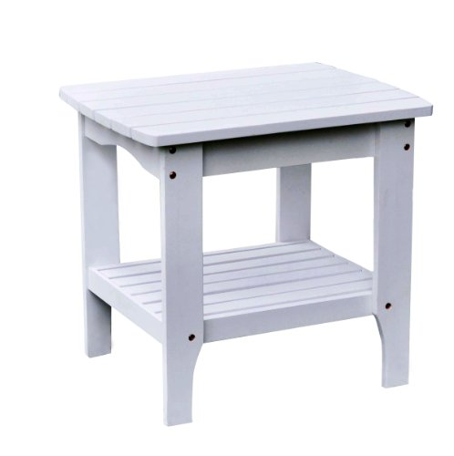 Adirondack Cedar Side Table - 6