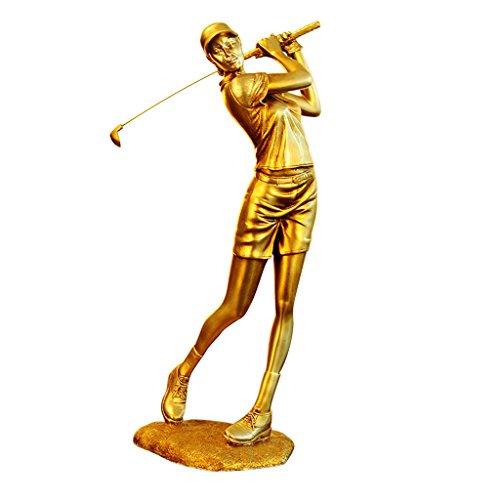 KTYXDE European Golfer Figure Decoration Crafts Ornaments (Color : Male)