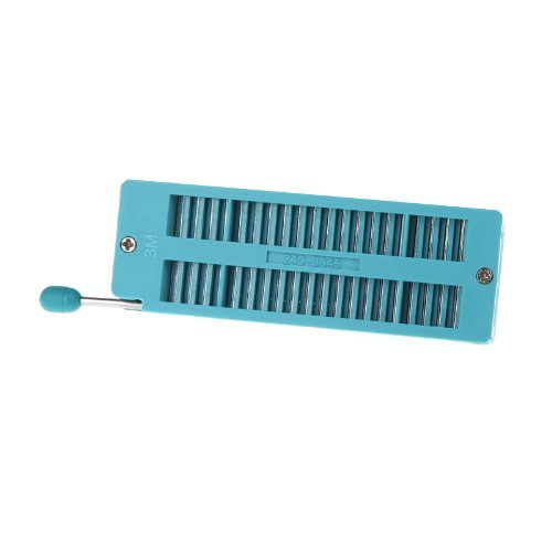 Universal 40 Pin ZIF DIP IC Test Board Socket - 5