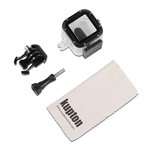 Kupton Waterproof Housing Case for GoPro Hero 5 Session/ Hero 4 Session/ Hero Session Action Diving Protective Shell 45 Meter with Bracket Accessories for Go Pro Hero Session