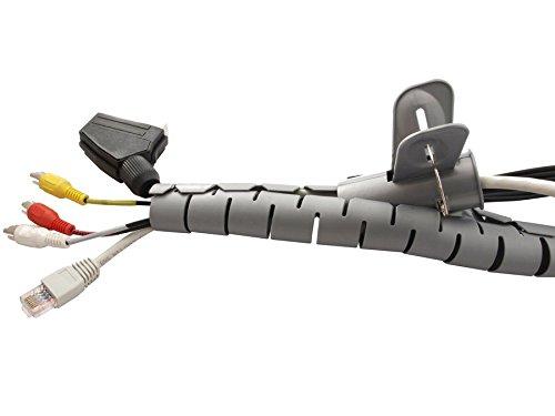 Maclean MCTV 676/S Organizzatore Cavo di Protezione per Cavo 2/m