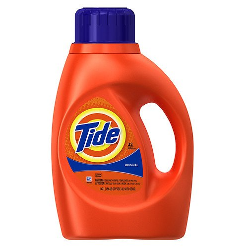 Tide Liquid Detergent, 32 Loads, Original Scent 50 fl oz
