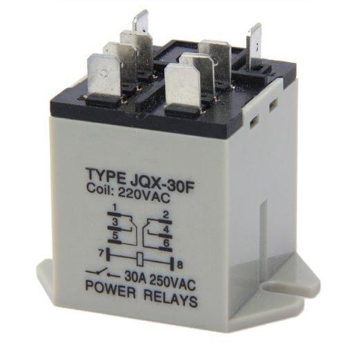 SODIAL(R) JQX-30F 30A rele de potencia