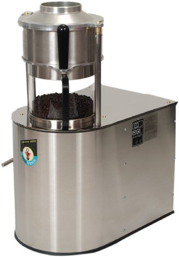 Sonofresco 2200-S Natural Gas Coffee Roaster, 2-Pound, Brushed Stainless Steel (Best Commercial Coffee Roaster Machine)