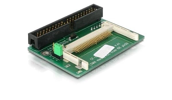 DeLOCK Lector de Tarjetas IDE 40 Pin a Compact Flash, [91645 ...