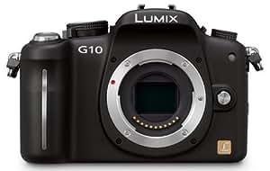 Panasonic Lumix DMC-G10 12-MP Live MOS Interchangeable Lens SLR Digital Camera (Body)
