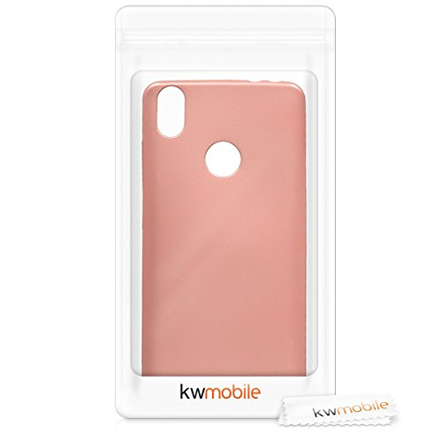 Amazon.com: kwmobile TPU Silicone Case for bq Aquaris X/X ...