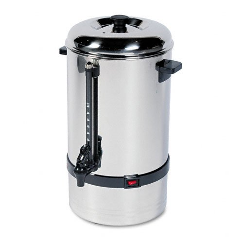 Classic Coffee Concepts SSU80 Stainless Steel Urn 80 Cup Permanent Filter Basket Lipton