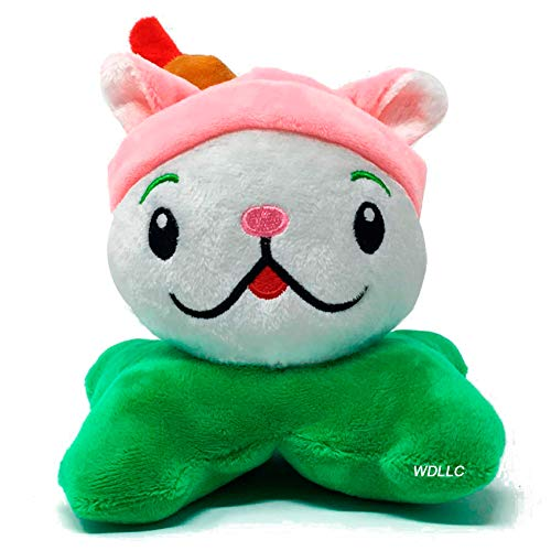 (Inspired by Plant Vs Zombies PVZ Plush Figures Stuffed Soft Doll Cattail Cat Plant Cute Baby)